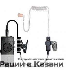 """""""Беспроводная Bluetooth гарнитура с PTT, с прозрачным звуководом Vostok BTHS-1"""