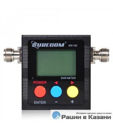 Цифровой измеритель КСВ мощности SURECOM SW-102S