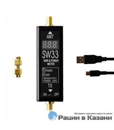 КСВ-метр SURECOM SW-33