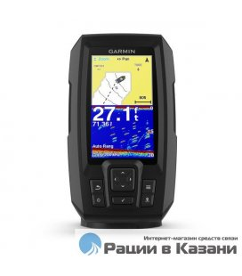Эхолот Garmin Striker Plus 4 с транцевым трансдьюсером