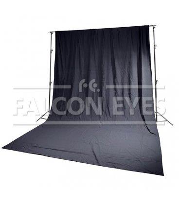 Фон FB-01 FB-3060 черный (бязь) 3x6 м