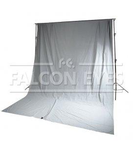 Фон FB-08 FB-3060 серый (бязь) 3x6 м