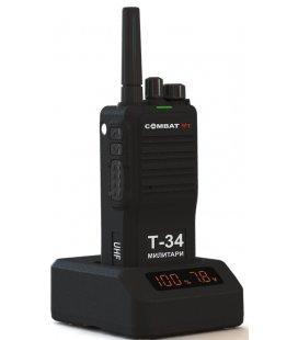 Радиостанция Combat IT Т-34 Милитари 10 Ватт UHF